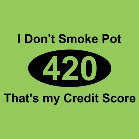 I Don't Smoke Pot