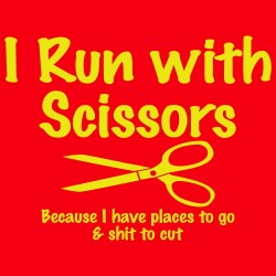 I Run With Scissors