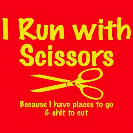 I Run With Scissors
