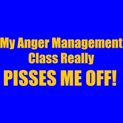 My Anger Management Class Pisses Me Off