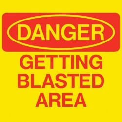 Danger: Getting Blasted Area