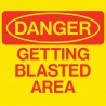 Danger: Getting Blasted Area