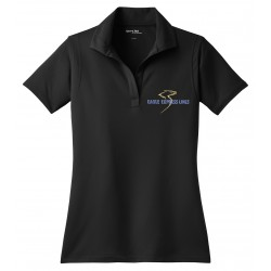 Eagle Express Lines LST650-Sport-Tek Ladies Micropique Polo - Black