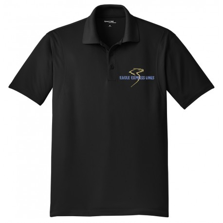Eagle Express Lines ST650 Micropique Sport -Wick Shirt - Black