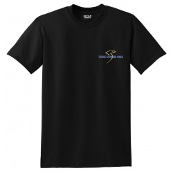 Eagle Express Lines 8000 Gildan Adult T.-Shirt 5.6oz. - Black