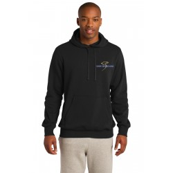 Eagle Express Lines ST254 Sport-Tek® Pullover Hooded Sweatshirt - Black