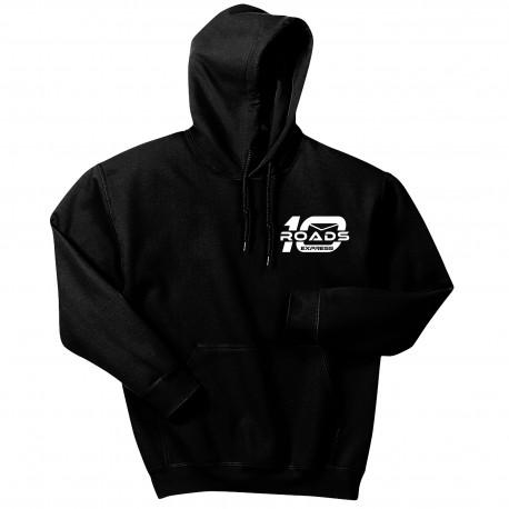 18500 Men's Embroidered 10 Roads Hooded Sweatshirt