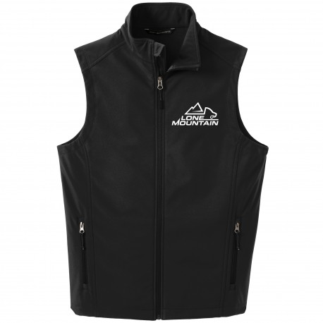 Lone Mountain Embroidered Soft Shell Vest