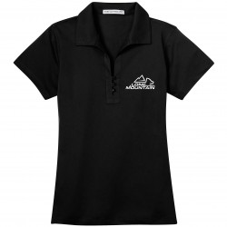 10 Roads Embroidered Ladies Polo