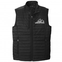 Lone Mountain Embroidered Puffer Vest