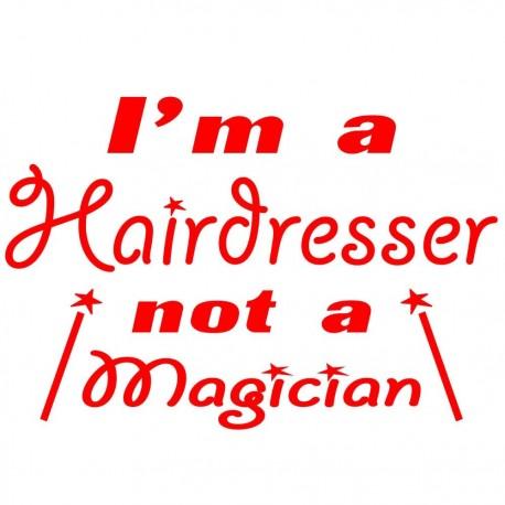 I'm A Hairdresser Not A Magician