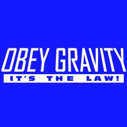 Obey Gravity It's The Law