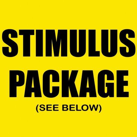 Stimulus Package See Below