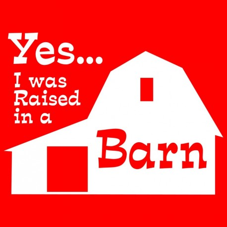 Yes I Was Raised In A Barn