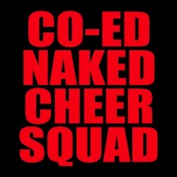 Co-ed Naked Cheer Squad