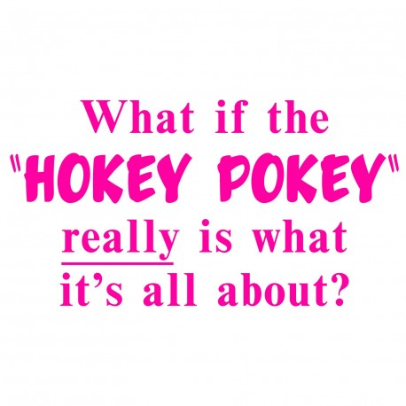 """What If The """"Hokey Pokey"""" Really Is What It's All About?"""