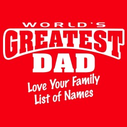 World's Greatest Dad CUSTOM