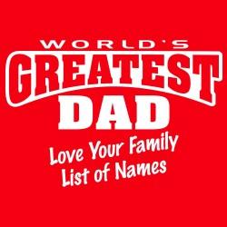 World's Greatest Dad CUSTOM