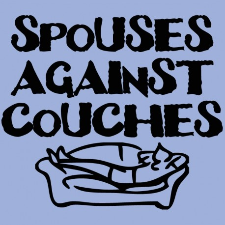 Spouses against couches