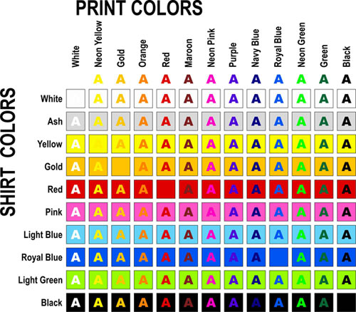 Garment Color Sample